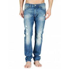 Diesel Thavar 0800X Slim-Skinny Jeans