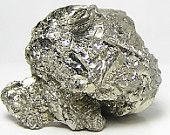 Golden Pyrite Crystal Knob Metallic Shiny Earth Nugget Mineral Specimen
