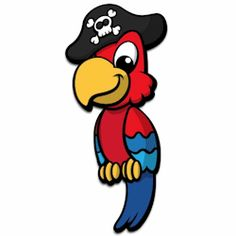... images about Pirate Theme on Pinterest | Pirates, Wall art and Parrots