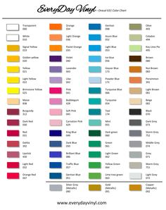 Are You Ready For Some Football Vinyl Team Colors Matched Jpg 236x298 College Color Chart