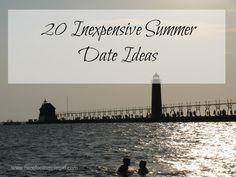20 Inexpensive Summer Date Ideas