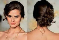 Penteados para madrinha de casamento cabelo médio