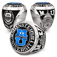 Monsters University Keychain and Paper Weight Class Ring Replica  http://www.pixarpost.com/2013/07/muring.html