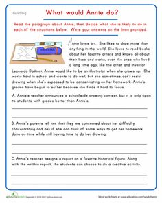 creative writing character essay