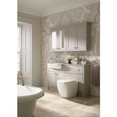 Find Shades Bathroom Vanity Unit - Breeze Shaker at Homebase. Visit your local store for the widest range of bathrooms & plumbing products. Bathroom Vanity, Modern Bathroom Design, Traditional Bathroom, Bathroom Vanity Units, Feminine Bathroom, Bathroom Wallpaper, Bathroom Wall Cabinets, Bathroom Interior Design, Bathroom Design
