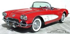Chevrolet Corvette: 1953-1962, C1