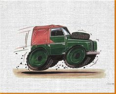 Resultado de imagen de print land rover