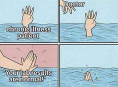 Chronic Fatigue, Chronic Pain, Chronic Illness Quotes, Fatigue Syndrome, Crps, Dankest Memes, Jokes, Invisible Illness, Autoimmune Disease
