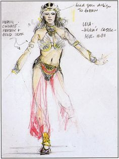 15 Interesting Facts About the Slave Leia Costume [Movies] ~ The Geek Twins