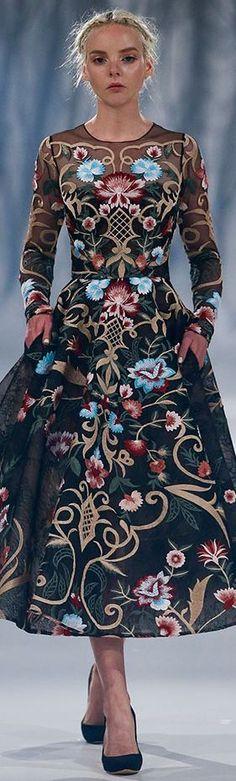 awesome Paolo Sebastian Fall Winter 2016-2017 Haute Couture...