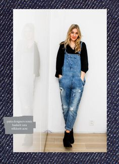 All that denim! Lilou's Crush | Lily.fi