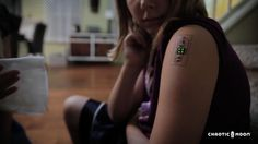 Tech Tats Are Temporary Tattoos That Can Monitor Your Health (Video) - Geeky Gadgets