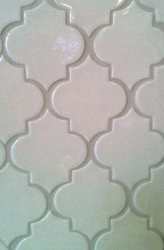 Ogee tile from Fireclay for the backsplash