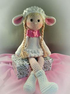 Cute doll. Only inspiration, no pattern