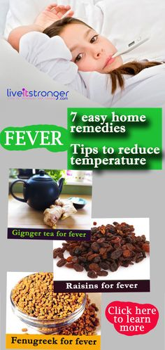 #home remedies for fever .might come in  handy when the meds run out.