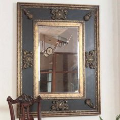 Cadence Ornamental Stately Wall Mirror