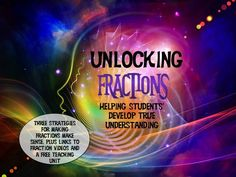 Learning about fractions is even more important than I thought! Learn why here, as well as get three important fractions strategies, plus links to videos and a free teaching unit.