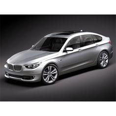 BMW 5 GT - Gran Turismo Automobile - 3D Model