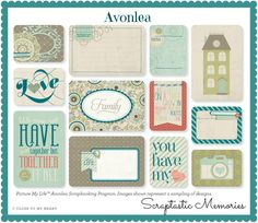 Picture My Life Scrapbooking Program from Close to my Heart - Avolea Scrapbooking Kit  www.scraptasticmemories.com