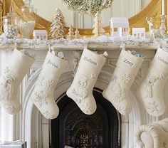 All That Glitters Stocking Collection | Pottery Barn Kids