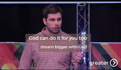 You are not defined by your circumstances. You are not defined by your fears. You are not defined by the opinions of others and what they say about you. Every day God steps into your life and call you by your true identity - As a son & a daughter of the King of Kings. Adam Turnbull finishes our Greater series by showing how the story that we have just gone through is for you today. If God could do it through a nervous, doubting wreck like Gideon then you are ready for your miracle too. You…