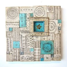Ceramic Wall Relief by Rut Bryk | From a unique collection of antique and modern wall-mounted sculptures at http://www.1stdibs.com/furniture/wall-decorations/wall-mounted-sculptures/