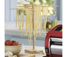 Shop Bamboo Pasta Drying Rack at CHEFS.