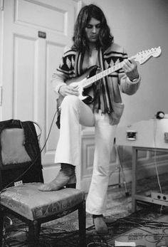Ian Gillan in Montreux December 1971 ©Shep Sheppard