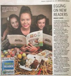 Did anyone spot these little guys in the Herald Sun today? We brought illustrations to life for author @ejcarroll last year crocheting each little eggy character from her gorgeous children's book 'Eggs'. This book would be a sweet Easter present...just in case you needed non-chocolate ideas   #ejcarroll #eggs #picturebook #childrensbook #crochet #mamazady #amigurumi by mamazady