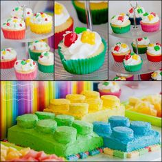 Lego Party - the cake