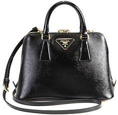 d9ec6336c8 Prada Saffiano Vernice Small Round Top-Handle Bag  Prada  PradaHandbags   designerhandbags