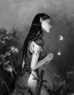 Sketches: Elves, Thea Turner on ArtStation at…