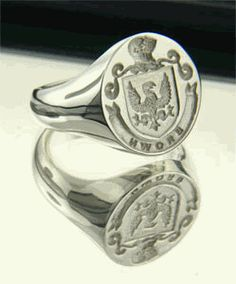 Family Wax Seal Rings - want because it's awesome and GoT-ish but how cool for sealing wedding correspondence!!!