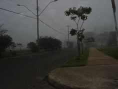 Neblina em Porto Alegre