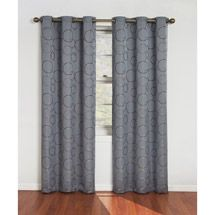 Eclipse Meridian Blackout Window Curtain Panel in Black – 42 in. W x 84 in. L Eclipse Meridian Blackout Window Curtain Panel in Blackout Panels, Blackout Windows, Blackout Curtains, Blue Curtains, Window Curtains, Bedroom Curtains, Curtains For Closet Doors, Curtain Room, Windows