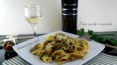 Pasta carciofi e mozzarella, un primo piatto, in cui il carciofo è il protagonista principale. La realizzazione di questo piatto è semplice e veloce.