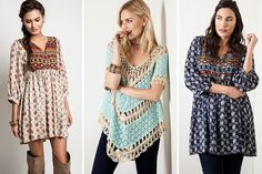 umgee USA Tunics | 44%  off! Chill out while the sun's out or have it made in the shade.  $24.99 for a limited time!