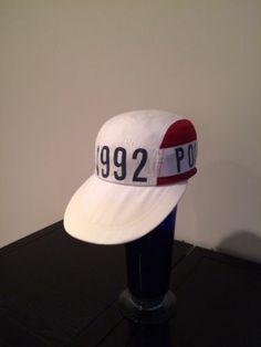 Vintage Polo Ralph Lauren 92 Stadium long bill hat.