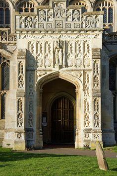 Lavenham, Suffolk  The church of Saint Peter and Saint Paul.