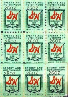 """got lots of """"stuff"""" with green stamps"""