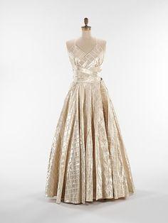 Evening Dress  Jeanne Lanvin, 1938