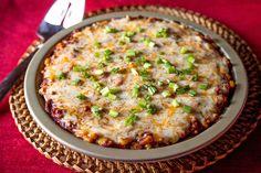 Beef Enchilada Tortilla Casserole @artfulgourmet #MissionFoodsInfluencers