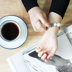 A/E/S bracelet/ acc/ jewerly/ aotd/ jotd/ fashion/ ring/ coffee/ table