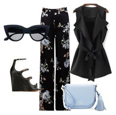 """""""splash of floral"""" by debi-elton on Polyvore featuring Ghost, Givenchy and Kate Spade"""