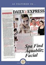 Spa Find Aquablitz Facial