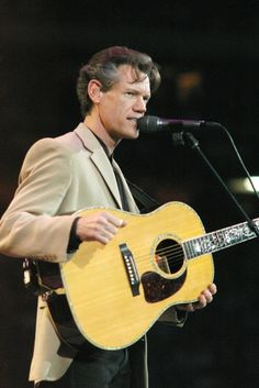 Saw Randy Travis in concert for my birthday August of 2003 @ Celebrity Theater with my mom and dad. So good.