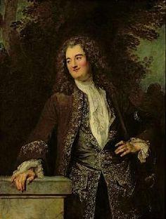 Jean-Antoine Watteau - Portrait of a Gentleman, or Portrait of Jean de Julienne