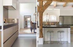 Moderne en landelijke keuken handgemaakt door The Living KItchen B.V. by Paul van de Kooi i.s.m. JACOB Apeldoorn
