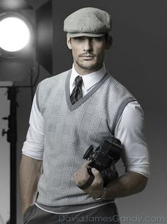 Never... ever... ever wear a driving cap or an un-tailored vest... Only exception on cap is if hunting, and it is green or brown tweed.