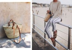 summer's biggest trend – straw bags